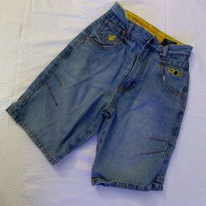 Boys Rocawear Jeans Shorts Size 7 Authentic